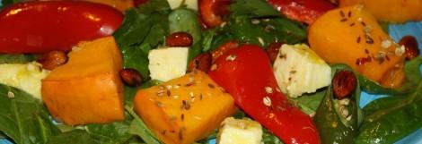 тыквенный салат фото